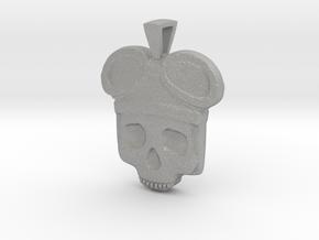 Lost Aviator Skull in Aluminum