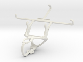 Controller mount for PS3 & verykool s5001 Lotus in White Natural Versatile Plastic