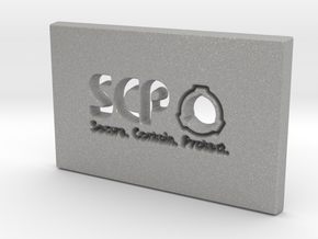 SCP Slab in Aluminum