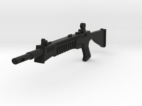 """L.A.S.E.R. Weapon Accessory - 7"""" Scale in Black Natural Versatile Plastic"""