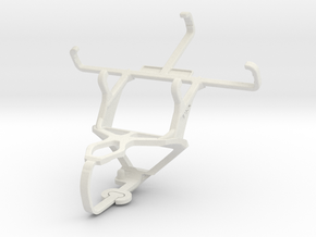 Controller mount for PS3 & Vodafone Smart first 7 in White Natural Versatile Plastic