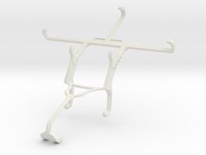 Controller mount for Xbox 360 & Wiko U Feel Lite in White Natural Versatile Plastic