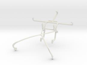 Controller mount for Shield 2015 & Wiko U Feel Lit in White Natural Versatile Plastic