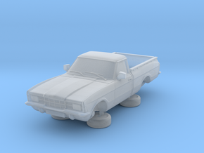 1-87 Ford Cortina Mk3 2 Door P100 Square Hl in Smooth Fine Detail Plastic