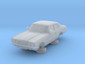 1-76 Ford Cortina Mk3 2 Door Standard in Smooth Fine Detail Plastic