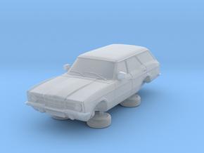 1-76 Ford Cortina Mk3 4 Door Estate Single Hl in Smooth Fine Detail Plastic