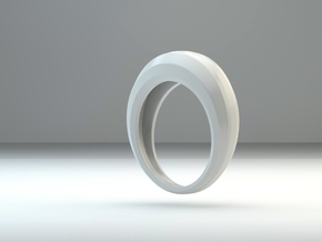 Step ring in White Strong & Flexible