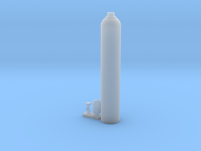 Oxygen Cylinder 1/24 in Frosted Ultra Detail