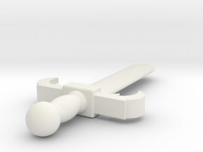 Sword (#39) in White Natural Versatile Plastic