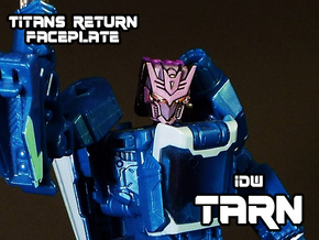 Tarn Faceplate (Titans Return-Compatible) in Frosted Ultra Detail