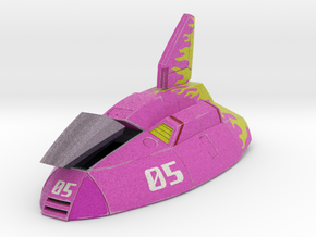 Fire Stingray (F-Zero) in Full Color Sandstone