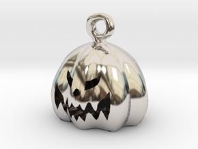 Mini Pumpkin  in Platinum