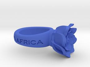FlowerRing UcheAristotle in Blue Processed Versatile Plastic
