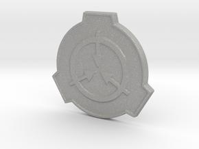 SCP Foundation Pin in Aluminum