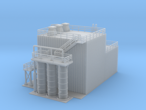 Revised Ethanol Processing Facility Z Scale in Smooth Fine Detail Plastic