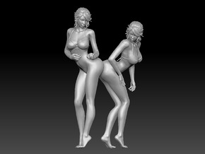 Nice Bottom Girls-001 Scale 1/12 in White Strong & Flexible