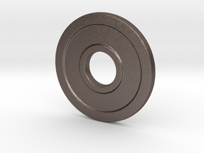 CC-N in Polished Bronzed Silver Steel