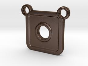 SC-CH in Polished Bronze Steel