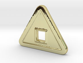 TS-N in 18k Gold Plated Brass