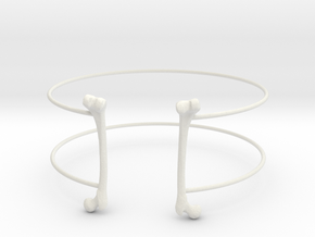Bracelet in White Natural Versatile Plastic