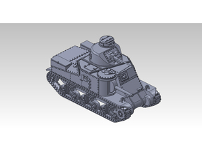 1/87 M3 LEE Medium Tank in Smooth Fine Detail Plastic