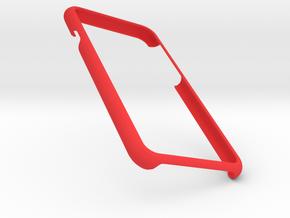 Iphone 7 Simple Frame in Red Processed Versatile Plastic