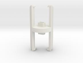 DJI INSPIRE  PROPELLER HOLDER - PROTECTOR in White Natural Versatile Plastic