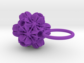 Valdrada -Ring- in Purple Strong & Flexible Polished