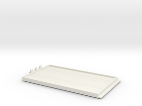 Woodstock Top Std in White Natural Versatile Plastic