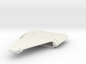 Carrier in White Natural Versatile Plastic