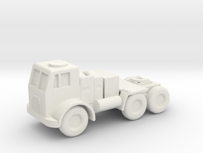 1/144 Scale Leyland Hippo 19H Tractor in White Strong & Flexible