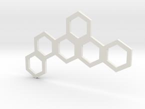 Hive Mind (Piece 9) in White Natural Versatile Plastic