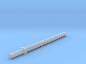 Hollow laser sword 5mm grip in Smooth Fine Detail Plastic