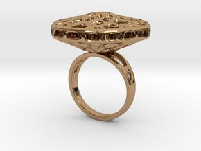 Rosetta.A in Polished Brass
