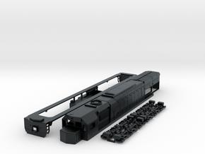 N scale GT26cw-2 in Black Hi-Def Acrylate