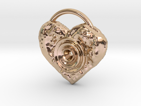 love speaker in 14k Rose Gold Plated Brass