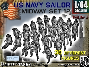 1-64 US Navy MIDWAY Set 12 in Frosted Ultra Detail