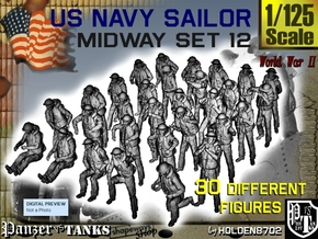 1-125 US Navy MIDWAY Set 12 in Frosted Ultra Detail
