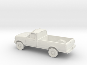1/87 1994 Ford F Series -Single Cab in White Natural Versatile Plastic