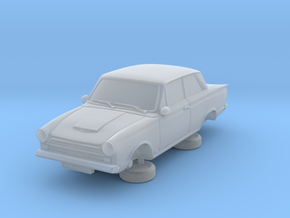 1-76 Ford Cortina Mk1 2 Door in Smooth Fine Detail Plastic