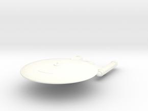 1/2500 - Renaissance Light Cruiser (solid) in White Processed Versatile Plastic
