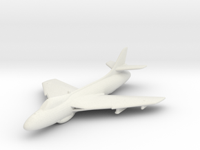 Hawker Hunter F.6 in White Natural Versatile Plastic: 1:200