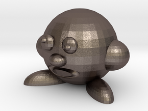 Cerby (Bootleg Parody Of Kirby) in Polished Bronzed Silver Steel