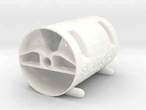 Matilda - Part 1: Capsule #SAR3DP in White Strong & Flexible Polished
