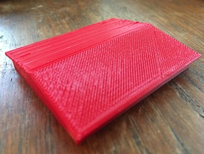 Hive Cover Sloped in Red Processed Versatile Plastic