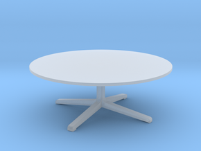Miniature Space JL50 Coffee Table - JJürgen Laub & in Smooth Fine Detail Plastic: 1:48