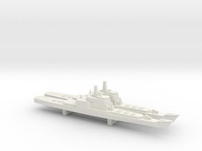 Aegis and VLS refitted Long Beach x 2, 1/3000 in White Natural Versatile Plastic