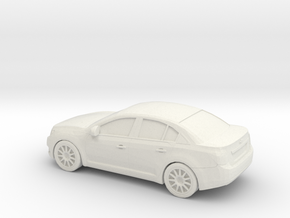 1/43 2011 Chevrolet Cruze in White Natural Versatile Plastic