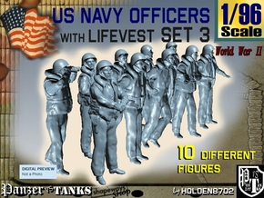 1-96 USN Officers KAPOK Set3 in Frosted Ultra Detail