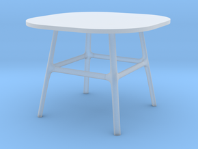 Miniature Minuscule Table - Cecilie Manz in Smooth Fine Detail Plastic: 1:48
